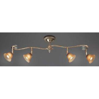 Eurofase Allure Four Light Track Light in Antique Silver   16341 012