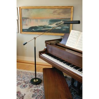 House of Troy Counter Balance Grand Piano Floor Lamp in Polished