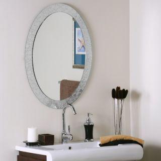 Decor Wonderland Frameless Crystal Wall Mirror   SSM5016 4