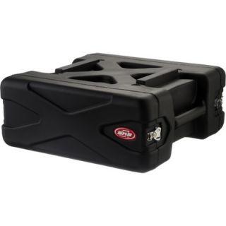 SKB 4U Roto Rolling Shock Rack Case   20 Deep   3SKB R04U20W