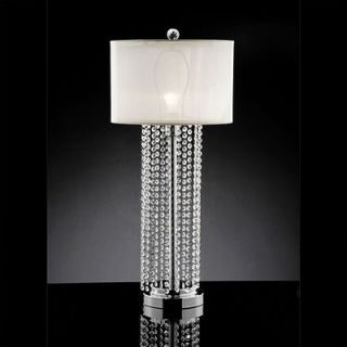 Warehouse of Tiffany 1 Light Crystal Table lamp