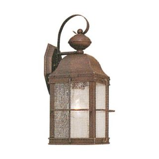 Livex Lighting Newburyport Outdoor Wall Lantern in Bronze   2411 07