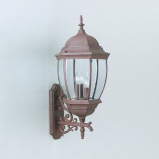 Thomas Lighting Covington Outdoor Wall Lantern in Tile Bronze