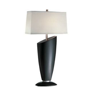 Lite Source Ofira Table Lamp in Dark Walnut   LS 20897D/WAL