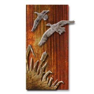 All My Walls Sunset Flight Wall Sculpture   NOR00040