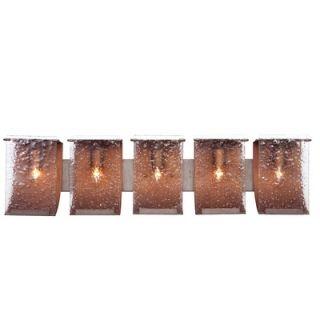Varaluz Recycled Rain Bath Light   Five Light