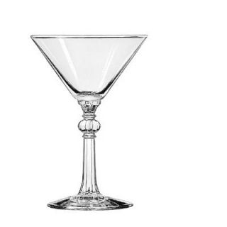 Libbey Specialty Martini Drinking Glasses Cocktail, 6 1/2 Ounce