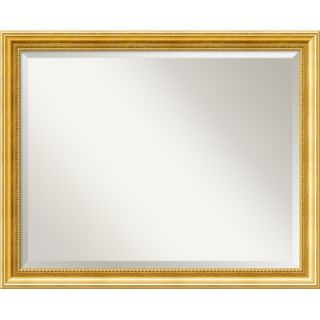 Amanti Art Townhouse Large Mirror in Mottled Gold   DSW01025