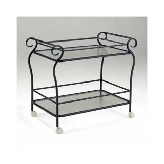 Blue Star Group Terrace Mates Inverness Serving Cart   INVERNESS DT