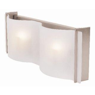 Access Lighting Mercury Vanity Light in Brushed Steel   62067 BS