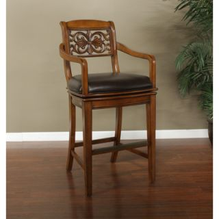 American Heritage Francisco Bonded Leather Stool   130890CANV