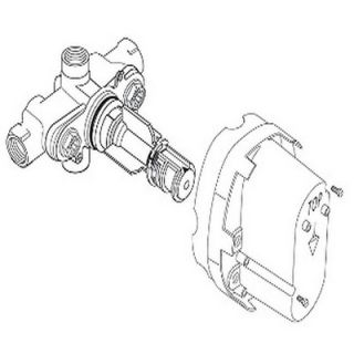 American Standard Ceratherm 1/2 Rough Thermostatic Valve Body