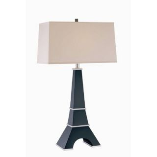 Lite Source Table Lamp in Dark Walnut/Silver   LS 21410