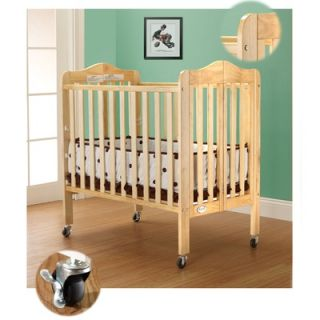 Orbelle Three Level Portable Crib in Natural