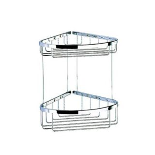 by Nameeks Basket Double Large Corner Shower Basket in Chrome   183