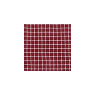 Patch Magic Red White Checks Bed Skirt / Dust Ruffle