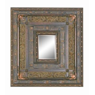 Imagination Mirrors Antique Majesty Wall Mirror in Antique Cherry