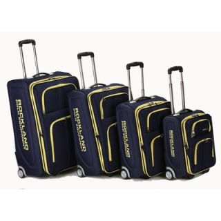 Rockland Polo Equipment 4 Piece Upright Luggage Set