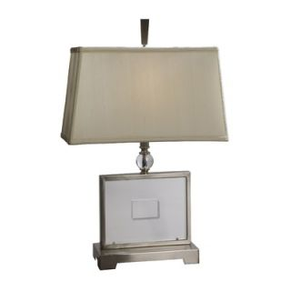 Uttermost Perry Clear Acrylic Table Lamp
