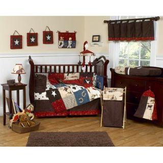 Sweet Jojo Designs Wild West Cowboy 9 Piece Crib Bedding Set