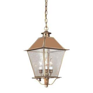Troy Lighting Montgomery Hanging Lantern with Metal Top   F9136CI