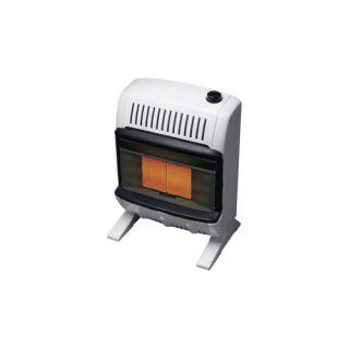 10000 BTU Liquid Propane Radiant Vent Free Wall Mount Heater