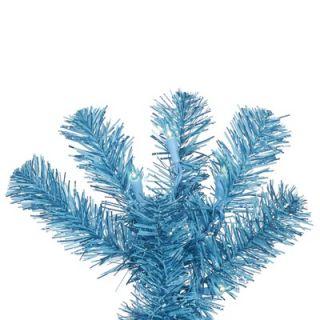 Vickerman 7.5 Artificial Pencil Christmas Tree in Sky Blue
