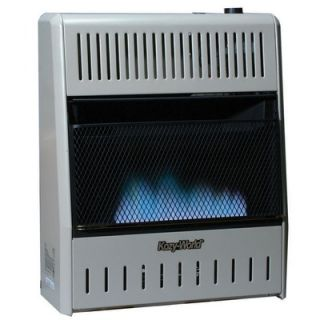 World Marketing 20000 BTU Dual Fuel Blue Flame Wall Heater
