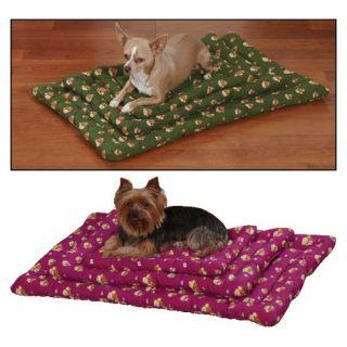 Slumber Pet Dog Crate Mat in Paw Print