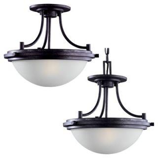 Sea Gull Lighting Winnetka 2 Light Convertible Pendant   77660 839