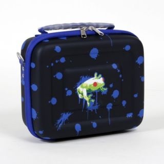 Beta Box Beta 200 Lunch Box in Psychedelic Frog Print and Blue