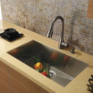 Vigo Stainless Steel 30 Undermount Kitchen Sink