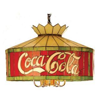 Meyda Tiffany Tiffany 6 Light Coca Cola Pendant