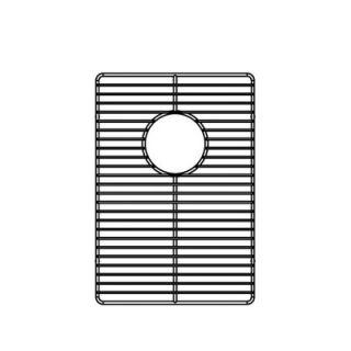 Julien 12 x 16 Electropolished Stainless Steel Grid for Kitchen Sink