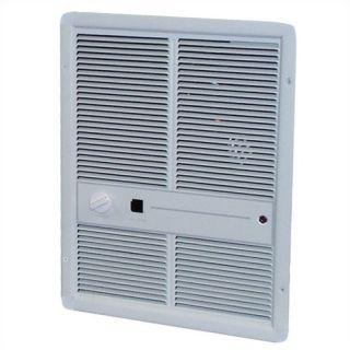 Fan Forced Double   Pole 6,826 BTU ( 277v ) Wall Heater w/ Summer Fan