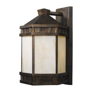 Elk Lighting Mission Abbey 15 One Light Outdoor Wall Sconce in