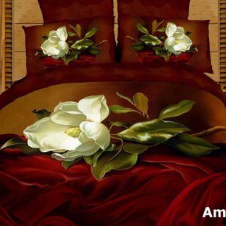Dolce Mela Amore 6 Piece Full / Queen Duvet Cover Set