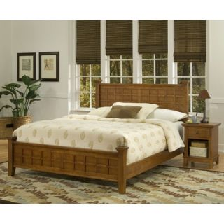 Home Styles Arts and Crafts Panel 2 Piece Bedroom Collection   5180