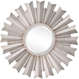 Cooper Classics Dylan Mirror in Distressed Silver
