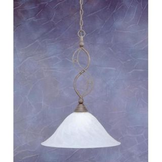Toltec Lighting Jazz 1 Light Downlight Pendant   231 B