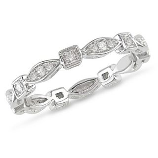 Amour White Gold Diamond Eternity Ring   RDKTW8754