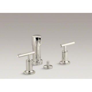 Kohler Purist Double Handle Vertical Spray Bidet Faucet   K 14431 4