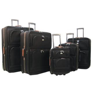 Olympia Mammoth II 5 Piece Luggage Travel Set   E 6000 5