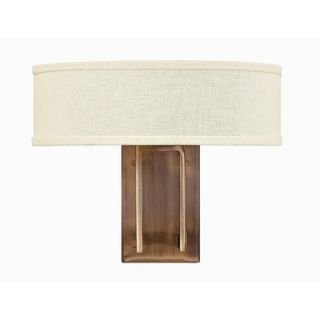 Hinkley Lighting Hampton Two Light Wall Sconce in Brushed Bronze