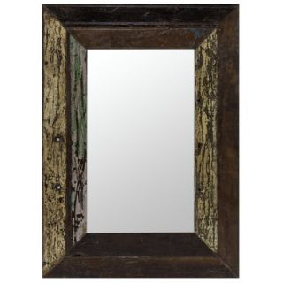 Cooper Classics Langley Mirror in Distressed Rustic Wood