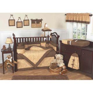Sweet Jojo Designs Camel Paisley 9 Piece Crib Bedding Set
