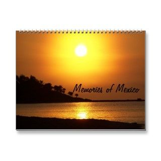 Memories of Riviera Maya Mexico 2013 Calendar