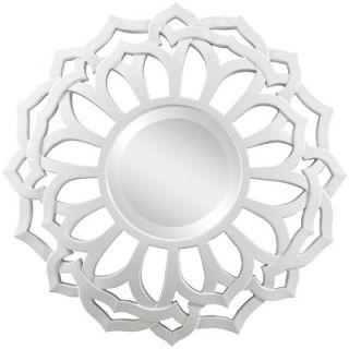 Cooper Classics Martin Wall Mirror in Glossy White