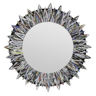 Cooper Classics Salina Mirror in Distressed Silver