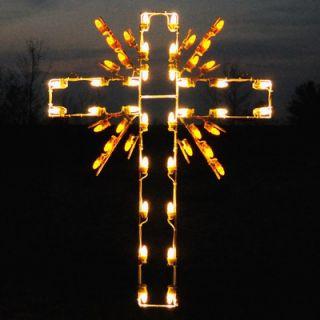 Holiday Lighting Specialists Radiant Cross Light